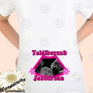 Kismama póló UH lány