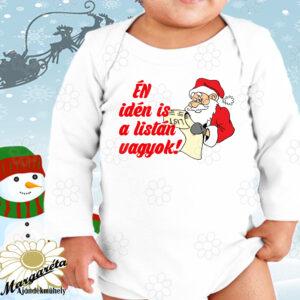 Baby body Karácsony idén is