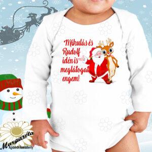 Baby body Karácsony Miki és Rudolf idén is