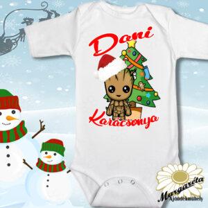 Baby body Karácsony groot