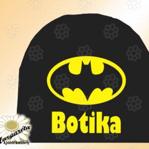 Sapka névvel egyszín Bat
