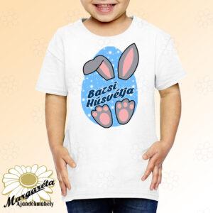 Húsvéti póló névvel füles fiú