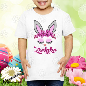 Húsvéti póló névvel nyuszipilla