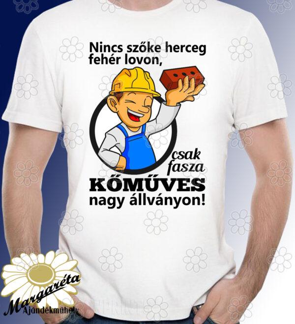 Kőműves póló