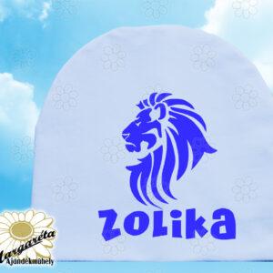 Sapka névvel egyszín oroszlán
