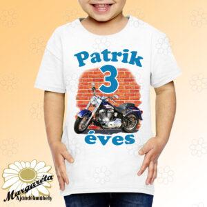 Szülinapos gyerekpóló Motor