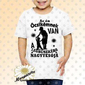 Gyerek póló Nagytesó Fiú vezet kisfiút