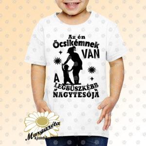 Gyerek póló Nagytesó Lány vezet kisfiút