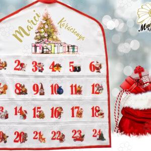 Egyedi Adventi naptár karácsonyfa