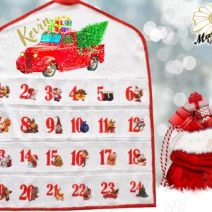 Egyedi Adventi naptár Autós