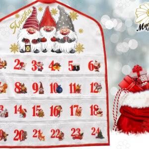 Egyedi Adventi naptár 3manó