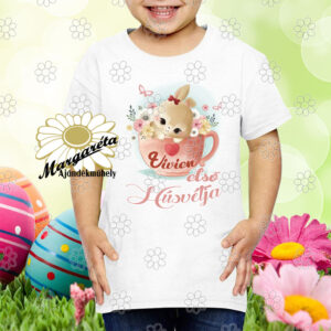 Húsvéti póló Nyuszi csészében