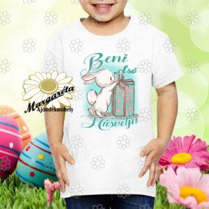 Húsvéti póló Nyuszi ajándékkal