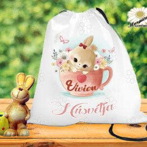 Húsvéti tornazsák névvel csészében