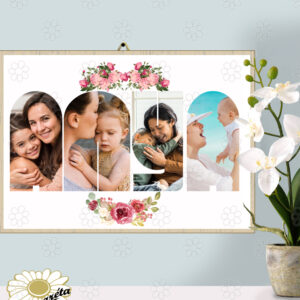 Akasztható tábla Anya betűk A/3